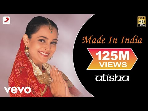 Alisha Chinai - Made In India Video video