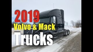 2019 Volvo & Mack Truck Tour| New Trucks | Prime inc ( Trucking ) ( CDL ) ( Jobs )