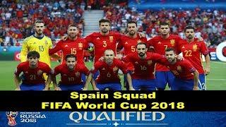 FIFA Russia World Cup 2018 Spain Squad | Hidden World BD |