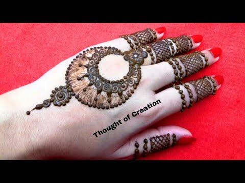 Earrings Style Jewellery Mehndi Design|Ramzan Special Mehndi Design