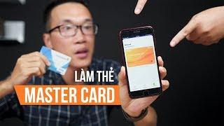 Cách làm thẻ MasterCard mua sắm online siêu dễ!!