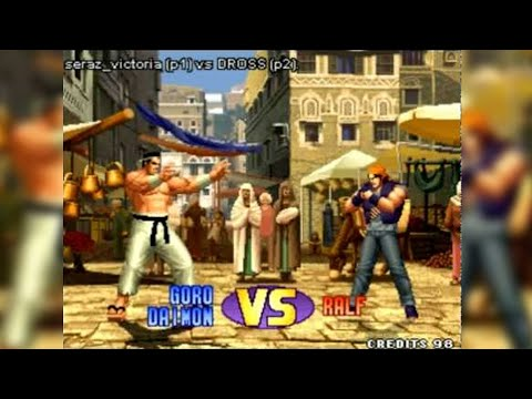 Dross reta a una campeona de King of Fighters