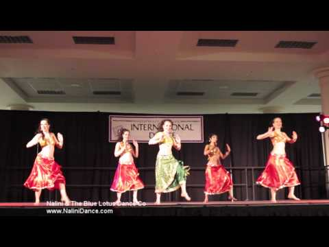 Halkat Jawani by Nalini & The Blue Lotus Dance Co at Folklife...