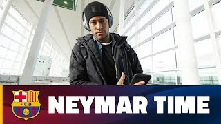 A day in the life of Neymar Jr
