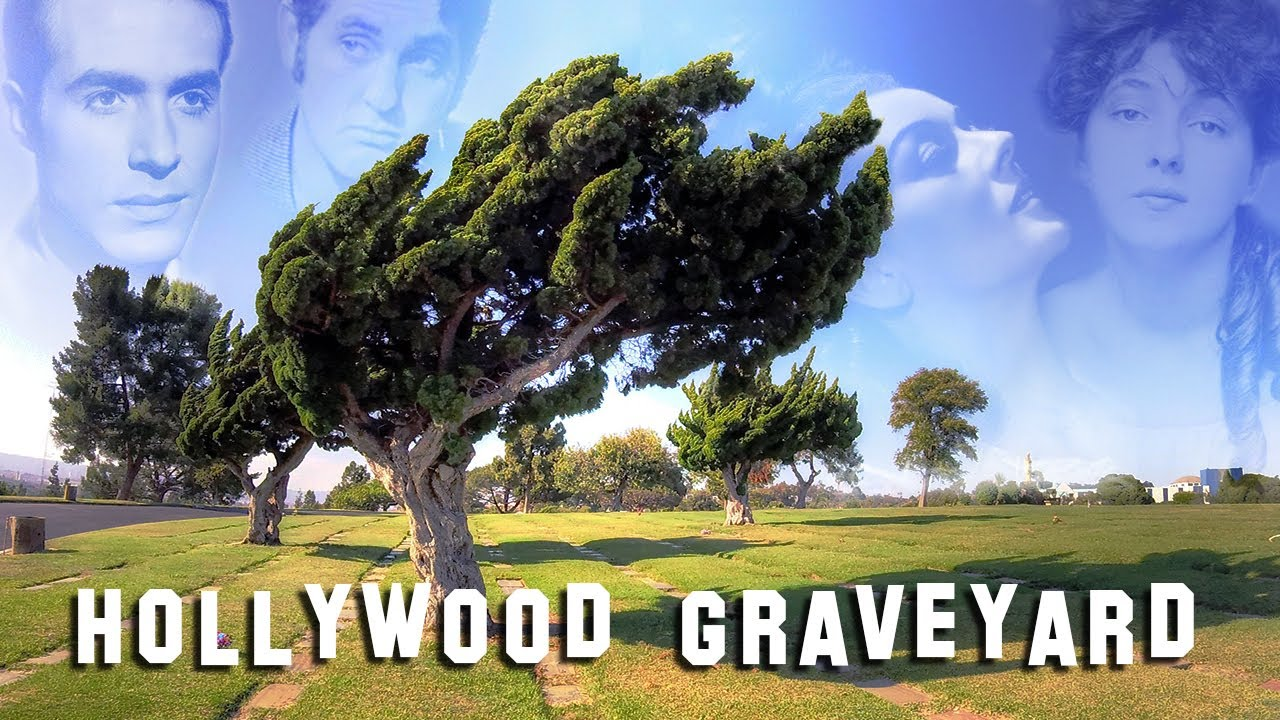 FAMOUS GRAVE TOUR - Holy Cross #3 (Rosalind Russell, Ricardo Montalban, etc.)