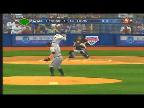 MLB 2k12 Josh Johnson No Hitter -Pro level-