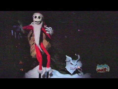 Full ride: Haunted Mansion Holiday 2012 at Disneyland