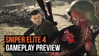 Sniper Elite 4 - Gameplay Preview