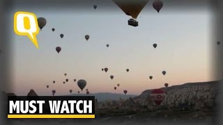 The Quint: Must Watch: Time-lapse Footage of a Balloon Festival in Turkey