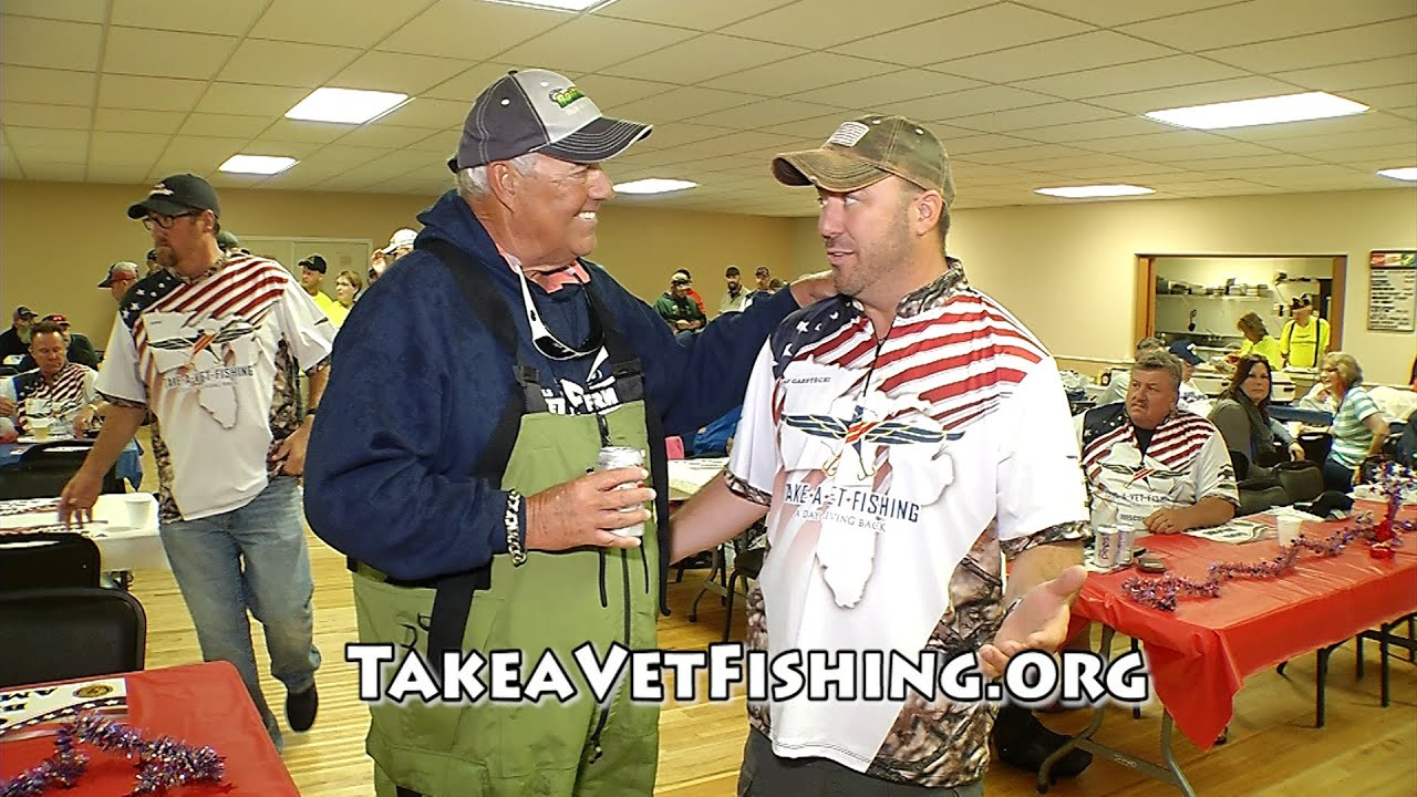 30 2016 take a vet fishing preview fishing cave for Take a vet fishing