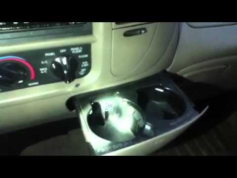 F 150 Cupholder Light Mod YouTube