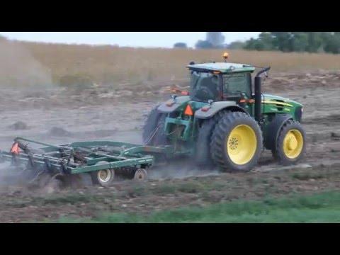 Farm Demo - JD 7930 - Plowing Wisconsin