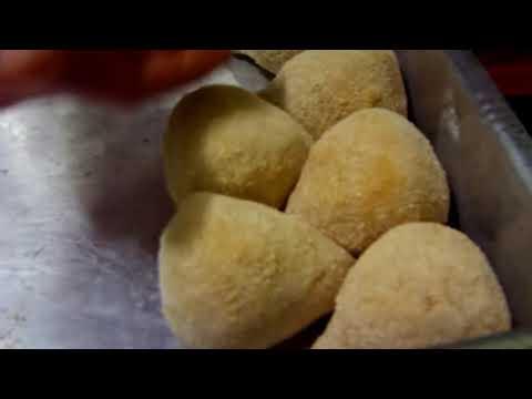 Como modelar coxinha de frango de maneira mais facil