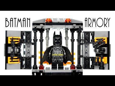 LEGO Batman Armory Tech Gear KnockOff Set The Dark Knight Speed Build