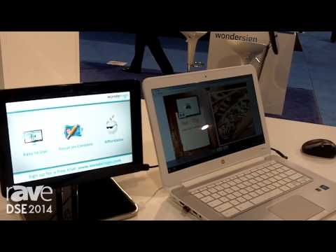 DSE 2014: Wondersign Exhibits Its Intuitive Online Content Editor