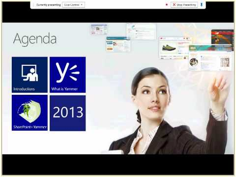 Yammer + SharePoint - Chicago SharePoint user group 2/5/13