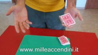 trucco carta extreme 4 assi magic trick