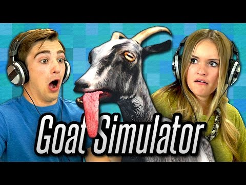 GOAT SIMULATOR (Teens React: Gaming)