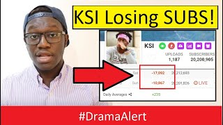 KSI Losing Subs from Deji EXPOSED video! #DramaAlert James Charles Tour Canceled!