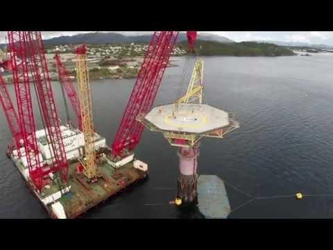 Offshore video 'Draugen' for Scaldis Salvage & Marine Contractors Antwerp