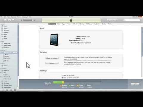 How to Transfer Files From the PC to your iPad