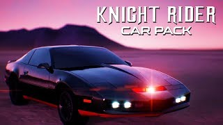 Rocket League - Official Knight Rider Car Pack Trailer