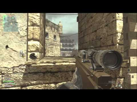 Mw3 Sniper Gameplay Commentary | OpTic Predator