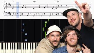 Download Lagu Portugal. The Man - Feel It Still - Piano Tutorial + SHEETS Gratis STAFABAND