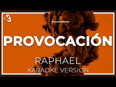 Raphael - Provocacion (Karaoke)