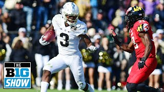 David Bell Talks Freshman of the Year Honor | Purdue | B1G Football
