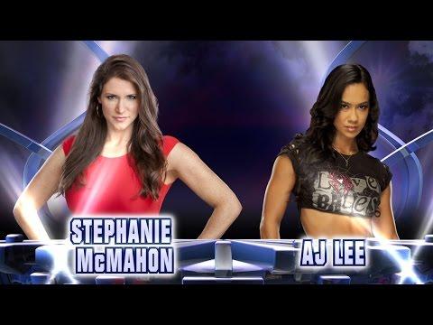 Stephanie McMahon vs. AJ Lee - Fantasy Match-Up