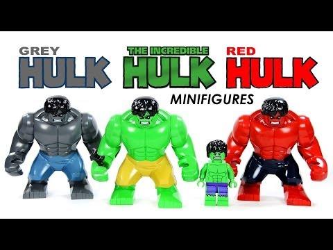 Red Hulk Green Hulk Grey Hulk Hulk vs Red Hulk vs Grey