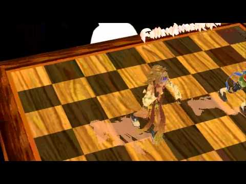 MMD Newcomer Chessboard Stage - Bad Apple