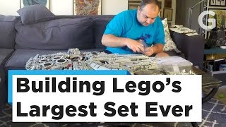 Watch Us Build Lego