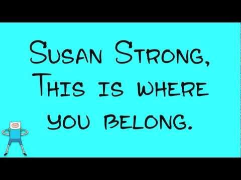 Rebecca Sugar - Susan Strong