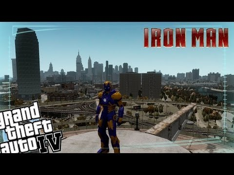 GTA IV LCPDFR Iron Man Mod Police Patrol - Episode 17 - Mark 27 Disco Armour
