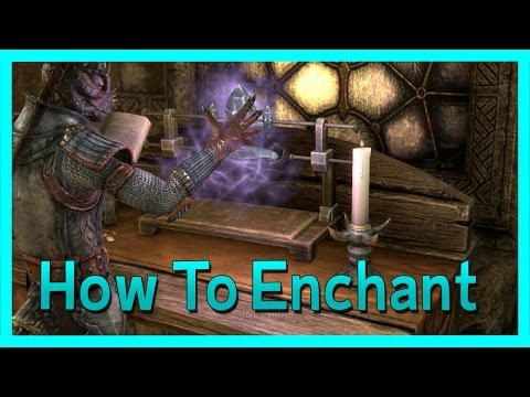 The Elder Scrolls Online - How to Enchant Weapons! Tutorial