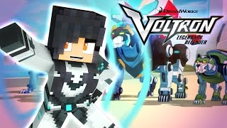 Go Lions! | Voltron Minecraft Hide and Seek