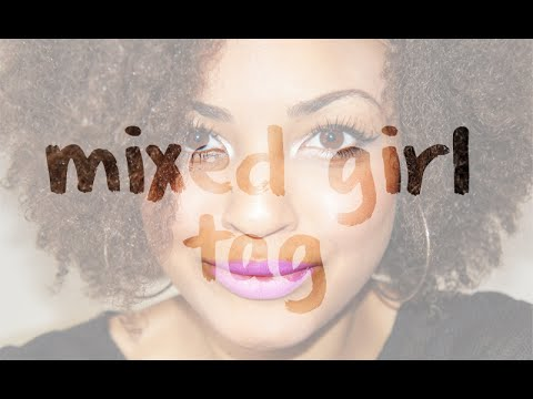 Mixed Girl Tag Mixed Girl Tag Black