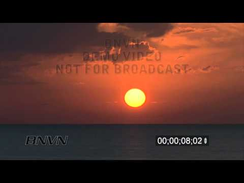 9/22/2010 Gulf of Mexico timelapsed sunset, Sarasota, FL.