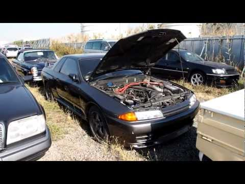 1991 Nissan Skyline GTR R32 - Japan purchase inspection