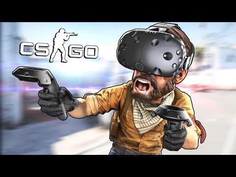 CS:GO в VR: РЕЖИМ С БОМБОЙ!!!