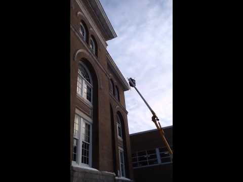 Ice Removal at  Edmunds Middle School