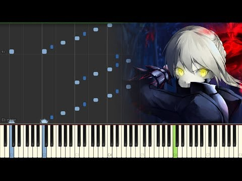 Fate/stay Night: Heaven's Feel - II. Lost Butterfly『Aimer - I Beg You』(Piano Tutorial/Synthesia)