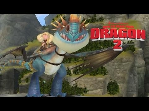 How To Train Your Dragon 2 - Stormfly & Astrid Gameplay [PS3/XBOX360/Wii]