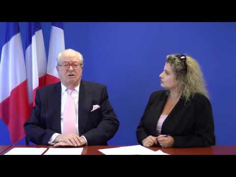 Le Pen attaque Bedos, Madonna, Noah et Bruel