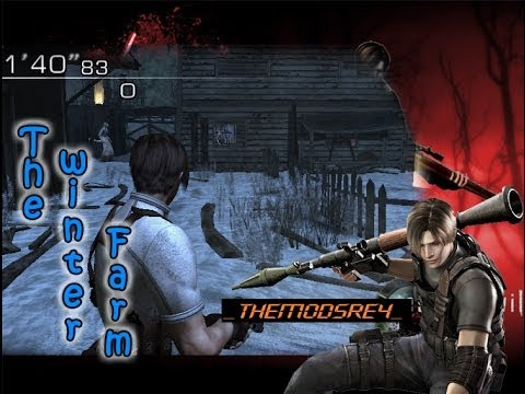 Mods (RE4 PC): Nuevo Escenario de Mercenarios!!! | The Winter Farm