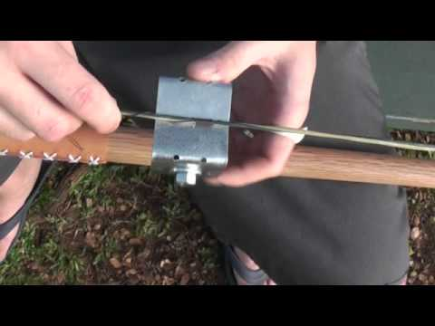 how to build bow string jig