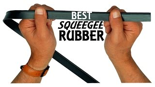 Best squeegee rubber and soap combination ever