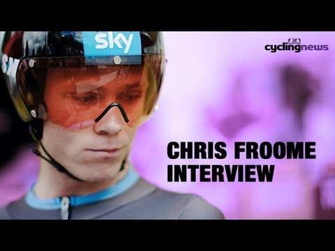 Chris Froome on 2013 Tour de France and working alongside Bradley Wiggins